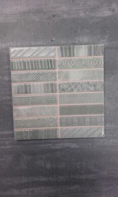 Mosaico Yucca verde    20x20(DEC349)