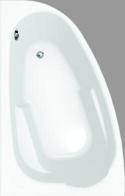 Rohová vana asymetrická JOANNA, levá 140x90(S301-005)