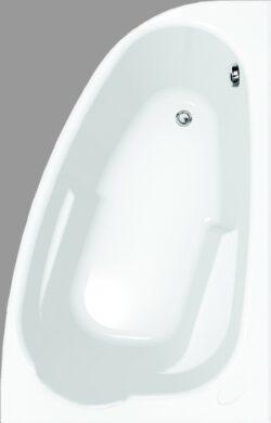 Rohová vana asymetrická JOANNA, pravá   140x90(S301-006)