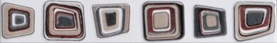 Listelo Stardust Cinza 4x25(PCI0000/396)