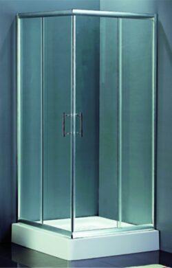 Sprchová zástěna HAMAR, čtverec 90x90(RIHGR54200)