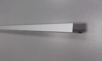 Lišta L koncová HOBBY 10MM hliník lesk   2,5 bm(OT021002742000)
