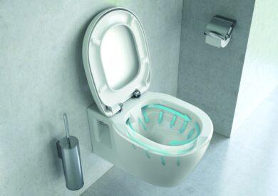 WC závěsné Connect Rimless - bez sedátka(ISTE817401)