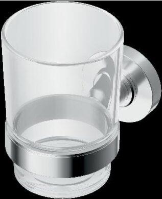 IOM sklenička na zubní kartáčky, čiré sklo(ISTA9121AA)