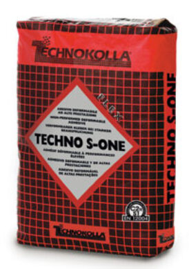 Lepidlo flex Techno S-One  C2TES1 šedé 25kg(482791)