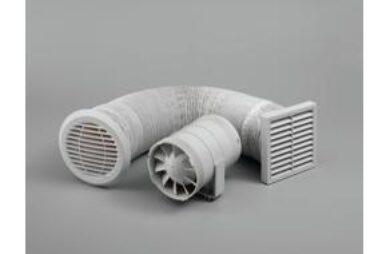 Ventilátor Silnt Timer potrubní(ZSRD100T)