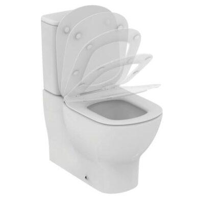 WC sedátko ultra ploché softclose Tesi - pouze sedátko(ISTT352701)