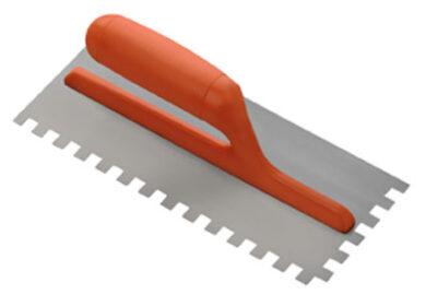 Hladítko zubové - kov 12 mm   28x12 cm(SIRI10113)