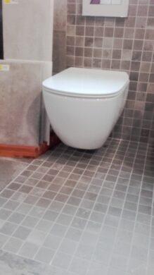 TESI WC závěsné Aquablade + sedátko ultra ploché softclose / SET                (ISTT354601)