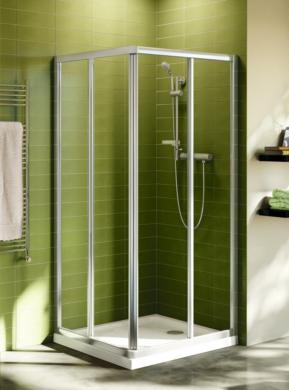 Sprchový kout Connect, čtverec, 90x90, sklo čiré(ISTT9806EO)