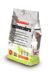 Spárovací hmota Moro/Dark brown Technocolors flexi 12   5kg-TECTKY767 Snadná čistitelnost, výborná zpracovatelnost a odolnost vůči otěru. Microshield system poskytuje aktivní ochranu bránící množení bakterií a plísní (ověřeno testovacím ústavem Centro Ceramico Bologna).