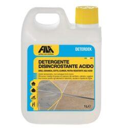 FILA DETERDEK - vyčištění po pokládce     1l-FIL60400012     Kyselý prostředek k odstraňování nečistot z podlah.