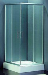 Sprchová zástěna HAMAR, čtverec 90x90-RIHGR54200