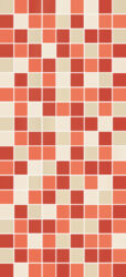 Obklad / dekor Pasadena Coral Mosaico 25x55-PCI4071