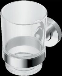 IOM sklenička na zubní kartáčky, čiré sklo-ISTA9121AA