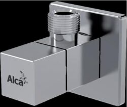"""Rohový ventil s filtrem, hranatý 1/2""""x3/8""""-ALCARV002"""