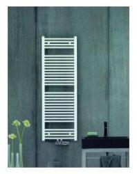Koupelnový raditátor Aura 120x60, rovný, středové připojení, bílý-PBZ-120-060-05