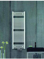 Koupelnový radiátor Aura 150x60, rovný, středové připojení, bílý-PBZ-150-060-05