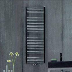 Koupelnový radiátor Aura 150x60, rovný, středové připojení, chrom-PBCZ-150-060-05
