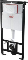 Podomítkový splachovač Sádromodul AM1120 pro suchou instalaci, do lehké příčky,-ALCAM101/1120
