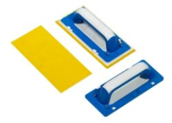 Hladítko - guma žlutá    25x11 cm   (1 ks)-SIRI003800