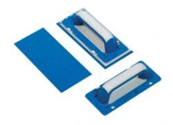 Hladítko - guma modrá   25x11 cm    (1 ks)-SIRI003810