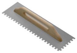 Hladítko zubové - kov 10 mm   48x14 cm-SIRI000060