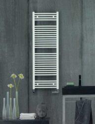 Koupelnový radiátor Virando 150x60, stř. připojení, bílý-AB-150-060-05