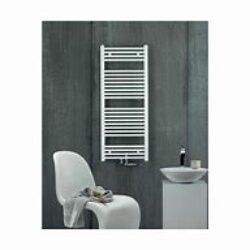 Koupelnový radiátor Virando 80x50, rovný, středové připojení, bílý-AB-080-050-05