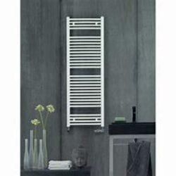 Koupelnový radiátor Virando 150x50, rovný, středové připojení, bílý-AB-150-050-05
