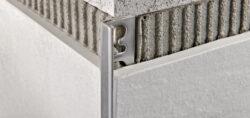 Lišta L koncová PROTERMINAL  8 MM hliník elox stř. 2,7M-PROPTAA08